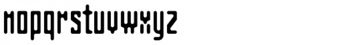 Matica Normal Font LOWERCASE
