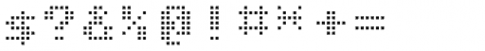Matricia Uno Extended Font OTHER CHARS