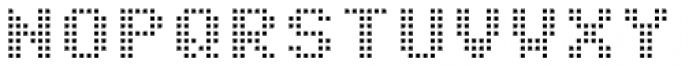 Matricia Uno Extended Font UPPERCASE