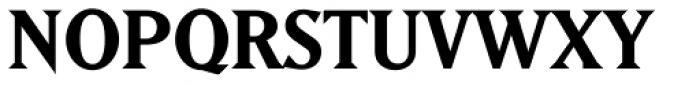 Matrix II Bold Font UPPERCASE