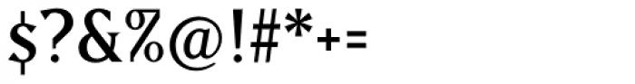 Matrix II Regular Font OTHER CHARS