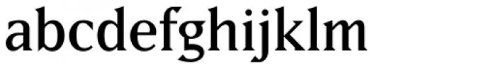 Matrix II Regular Font LOWERCASE