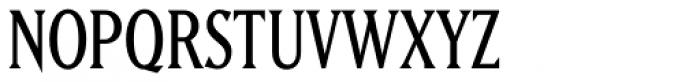 Matrix II Semi Narrow Font UPPERCASE