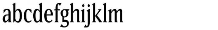 Matrix II Semi Narrow Font LOWERCASE
