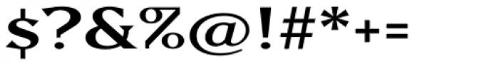 Matrix II Semi Wide Font OTHER CHARS