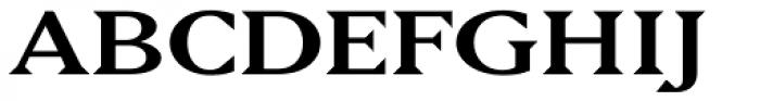 Matrix II Semi Wide Font UPPERCASE