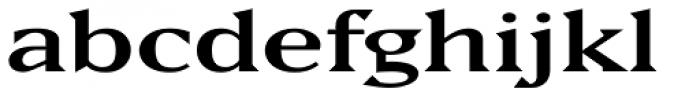 Matrix II Semi Wide Font LOWERCASE