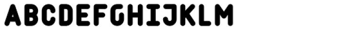 Matryoshka M Font UPPERCASE