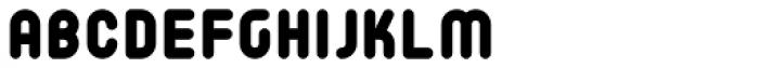 Matryoshka M Font LOWERCASE