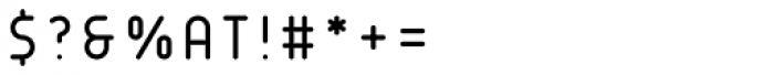 Matryoshka XS Font OTHER CHARS