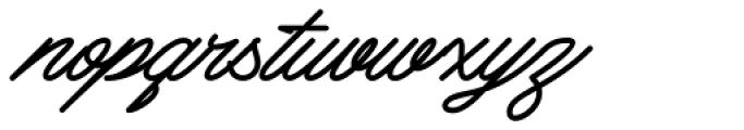 Mattcool Bold Font LOWERCASE