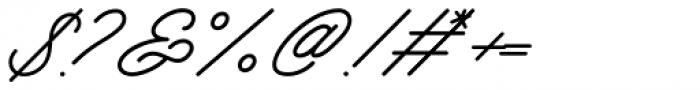 Mattcool Regular Font OTHER CHARS