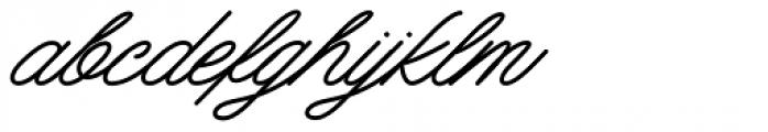 Mattcool Regular Font LOWERCASE