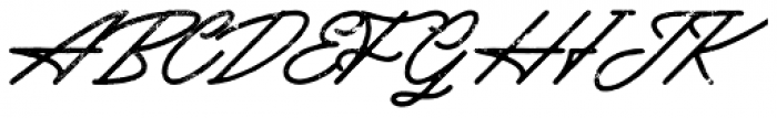 Mattcool Rough Font UPPERCASE