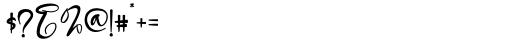Mattera Regular Font OTHER CHARS