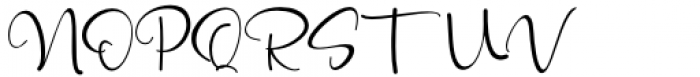 Mattera Regular Font UPPERCASE