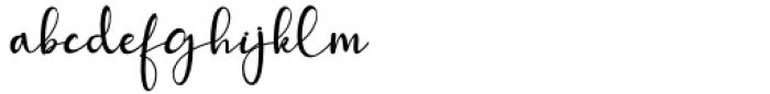 Mattera Regular Font LOWERCASE
