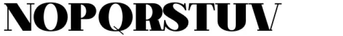 Matterdi Black Font UPPERCASE