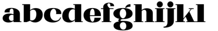 Matterdi Black Font LOWERCASE