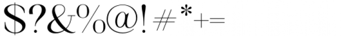 Matterdi Light Font OTHER CHARS