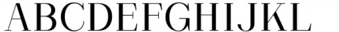 Matterdi Light Font UPPERCASE