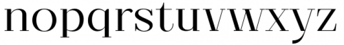 Matterdi Light Font LOWERCASE