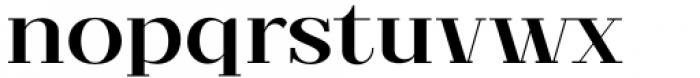 Matterdi Medium Font LOWERCASE