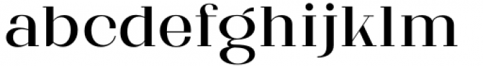 Matterdi Regular Font LOWERCASE