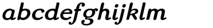 Matula Black Italic Font LOWERCASE