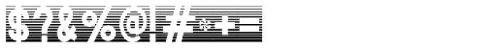 Mau Bo Flatline V3 Font OTHER CHARS