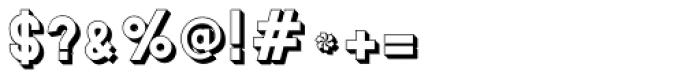 MauBo 3-D Font OTHER CHARS