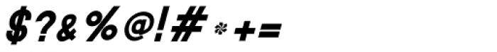 MauBo Bold Italic Font OTHER CHARS