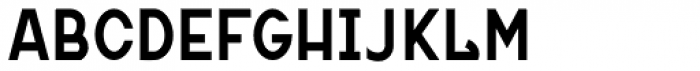 MauBo Bold Font UPPERCASE