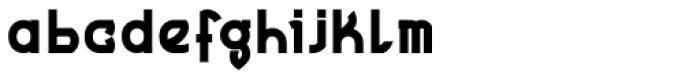 MauBo Bold Font LOWERCASE