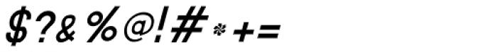 MauBo Italic Font OTHER CHARS