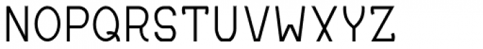 MauBo Thin Font UPPERCASE