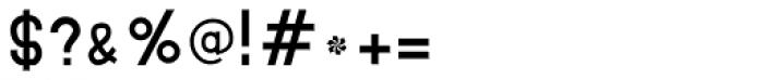 MauBo Font OTHER CHARS