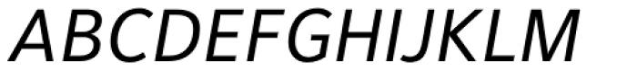 Maurea Italic Caps LF Font UPPERCASE