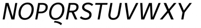 Maurea Italic TF Font UPPERCASE