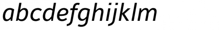 Maurea Italic TF Font LOWERCASE