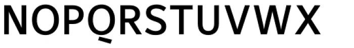 Maurea Medium Caps Font UPPERCASE