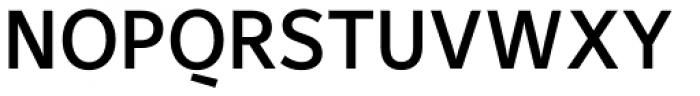 Maurea Medium Font UPPERCASE