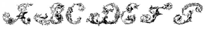 Mauro Poggi Ornamental Caps Font LOWERCASE