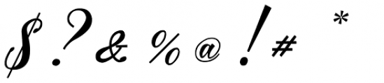 Mavblis Italic Font OTHER CHARS