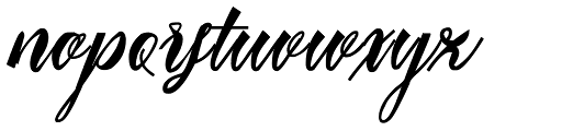 Mavblis Italic Font LOWERCASE