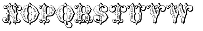 Maverick's Lucky Spades Font UPPERCASE