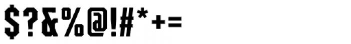 Mavericks Regular Font OTHER CHARS