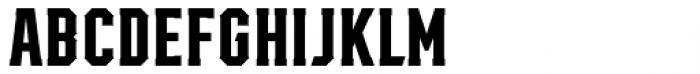 Mavericks Regular Font UPPERCASE