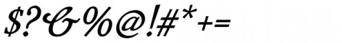 Mavin Semi Bold Italic Font OTHER CHARS