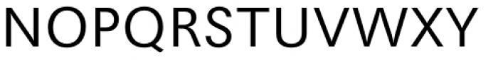 Maxima EF Light Font UPPERCASE
